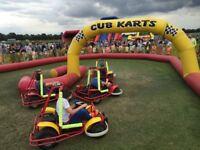 Children's go kart business for sale.