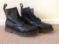 Dr. Martens Black, Mod.1460, size 8. New without box