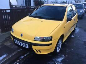 Fiat punto 1.2 16v sporting yellow