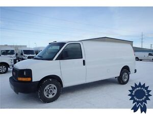 2016 GMC Savana Extended Cargo Van Rear Wheel Drive - 9,418 KMs