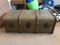Vintage chest trunk