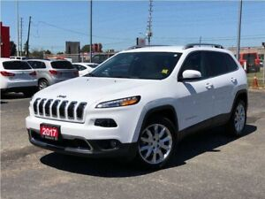 2017 Jeep Cherokee LIMITED**LEATHER**NAVIGATION**ONLY 12, 671 KM
