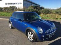 Mini Cooper 1.6, metallic blue, Chili pack, FSH, long MOT no advisories