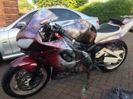 Yamaha r6 custom may swap