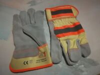Assorted Safety Work Gloves - Various Sizes and Styles, New, Workshop, Building, Oil & Gas Use