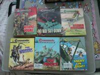 Commando Comics.