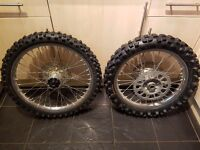 Honda CRF wheels and Tyres 250 450 R X