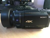 Sony 4K Camcorder - FDR AX33 - boxed as new