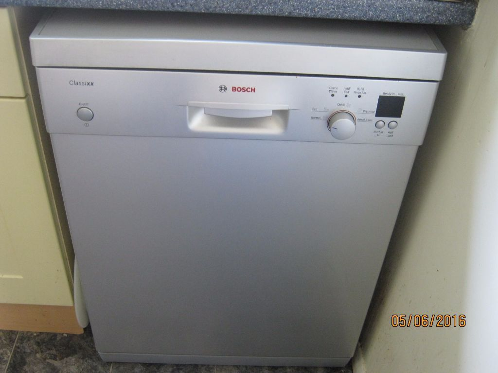Bosch Classixx Dishwasher Silver 55 In Rochester Kent