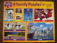 8 In 1 Family Jigsaws