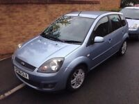 2006 '06' Ford Fiesta 1.4 Tdci Ghia Top spec Leather 5 Door Mot March 18 60+Mpg £20 Year tax