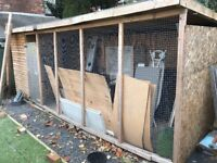 Dog Kennel/Shed 7x2.4