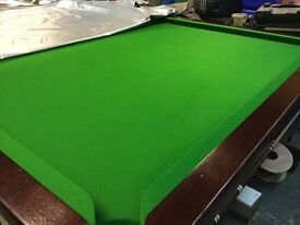 FULL SIZE SLATE BED SNOOKER TABLE + ALL ACCESSORIES