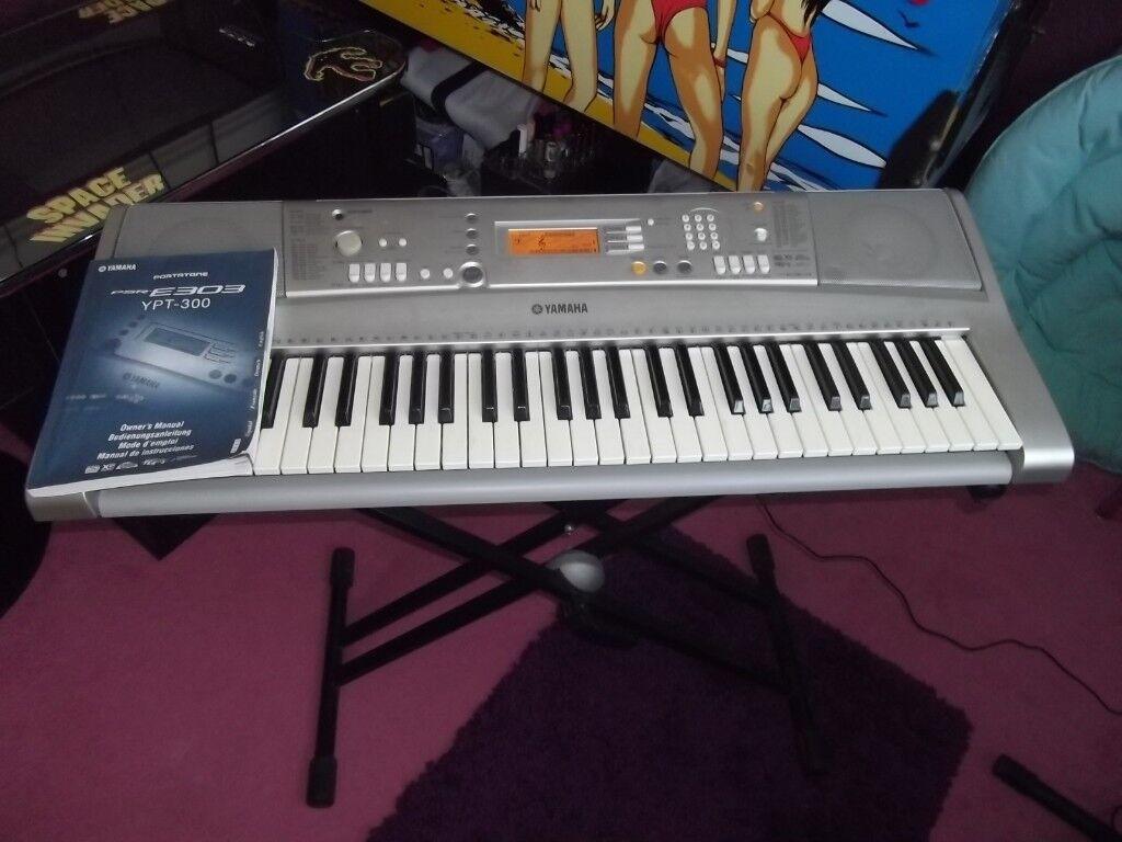 Yamaha PSR-E303 keyboard.