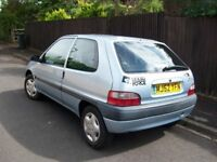 CITROEN SAXO FORTE, 1.1 cc, ONE YEAR MOT, 10th AUGUST 2019