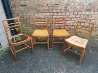 1950's beech Chairs