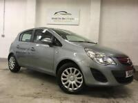 VAUXHALL CORSA 1.2 EXCLUSIV CDTI ECOFLEX S/S 5d 93 BHP EXTREMELY ECONOMICAL (silver) 2011