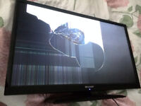 sharp lc-32ld145k 32 Inch LCD Smart TV for parts