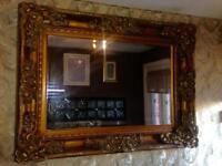 Heavily Ornate Mirror