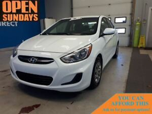 2017 Hyundai Accent SE! AC! FINANCE NOW!