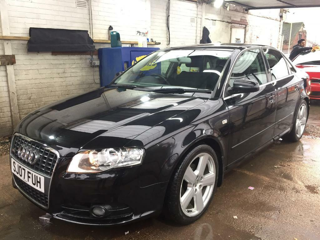audi a4 s line 2 0 diesel 2007 90000 miles full service history in clydebank west. Black Bedroom Furniture Sets. Home Design Ideas
