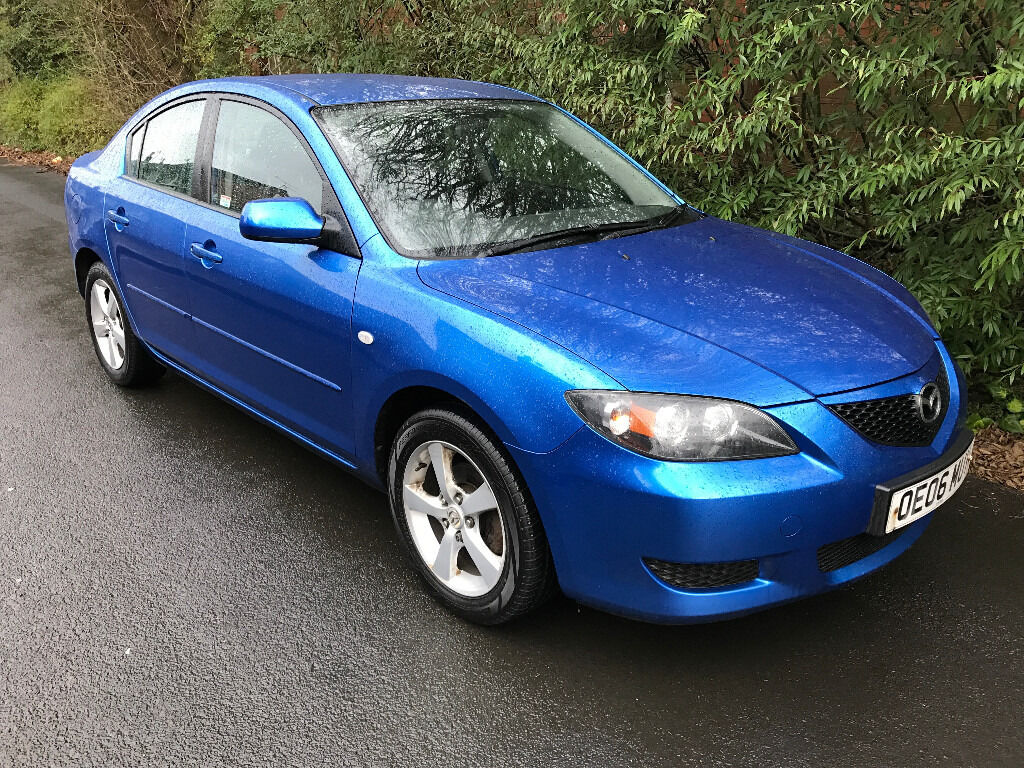 2006 (06) Mazda 3 TS2 Saloon 1.6 Diesel - STARTS & DRIVES - SPARES OR REPAIRS