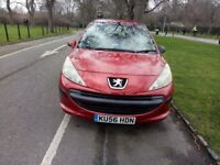 2006 Peugeot 207s 1.4 5dr Fully HPI Clear Good Runner with Service History 2 keys @07896137985@