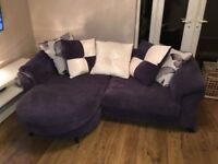 DFS Sofa / Couch *barely used* purple