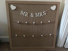 Wedding Table Plan Board