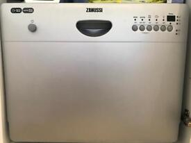 Zanussi Compact Dishwasher - small dish washer easy to install