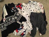 6-9 months winter boys bundle 23 items