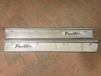 Mk1 mx5 eunos miata door sill step stainless covers