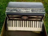 1950/60s Geraldo 120 Base Piano Accodion