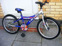 "FALCON BOYS 20"" WHEEL BIKE IN GREAT WORKING ORDER AGE 6+"