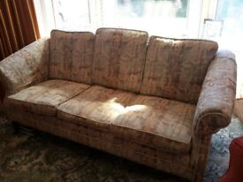 3 seater sofa,...FREE