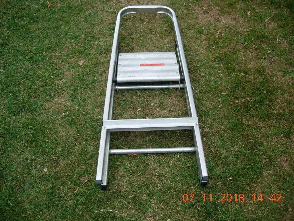 Strange Abru 2 Tread Aluminum Step Ladder In Birchgrove Cardiff Gumtree Bralicious Painted Fabric Chair Ideas Braliciousco