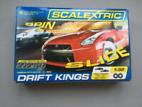 scalextric drift kings cars & track Complete Set