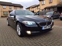 BMW 5 Series 3.0 530d SE 4dr Automatic, Full Service History 1 owner From New, Xenon Lights