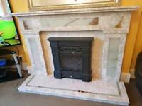 Pure Marble Fire Surround