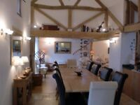Lovely Dining Table & 10 Dining Chairs