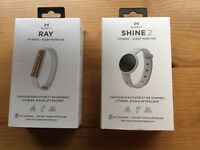 Set of Misfit fitness monitors - RAY and SHINE 2.