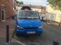 Ford transit ,diseal,52 plate. with 12 month mot and tax,