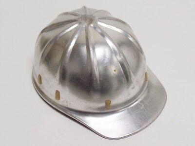 Vintage Aluminum Hard Hat - Bump Cap