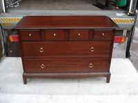 Stag Minstrel Six Drawer Chest in Excellent Condition