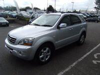 2007 07 KIA SORENTO 2.5 XT 5D AUTO 168 BHP **** GUARANTEED FINANCE **** PART EX WELCOME ****