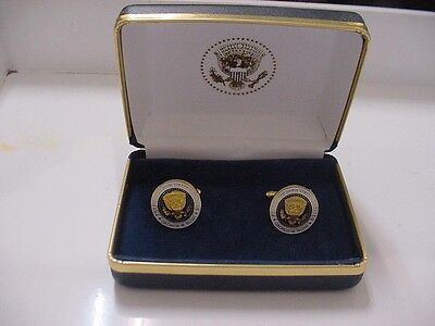 Pair Of  Unusual Presidential George W Bush Cufflinks