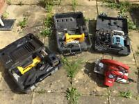 Power tools for sale - job lot