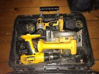 Dewalt set for sale !