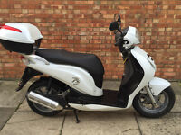 Honda PES 125, Immaculate condition with 3 miles ONLY