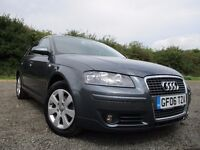Audi A3 automatic Diesel Grey 2006 low mileage